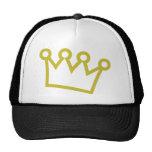 gold king crown deluxe cap