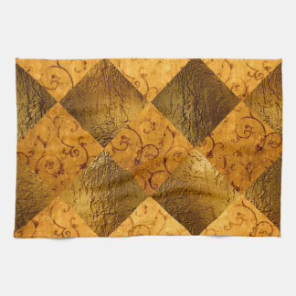 "Gold Kitchen Towel 16"" x 24"""