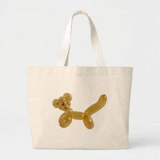 gold kitty balloon jumbo tote bag