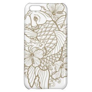 Gold Koi tattoo iPhone 5C Cover