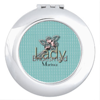 Gold-Lady-Bridal_Delicate_Wedding--Rose-Blue_Favor Compact Mirrors