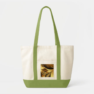 Gold Leaves Fractals Bags