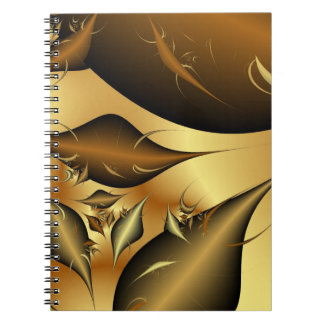 Gold Leaves Fractals Journal