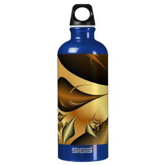 Gold Leaves Fractals SIGG Traveler 0.6L Water Bottle