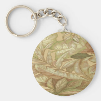 Gold Leaves Key Chain