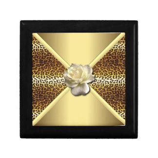 Gold Leopard Gift Box