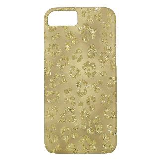 Gold Leopard Print iPhone 8/7 Case