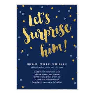 Surprise Party Invitations & Announcements | Zazzle.co.uk