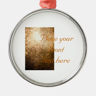 Gold Light 001 Christmas Ornament