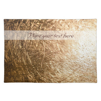 Gold Light 001 Placemat