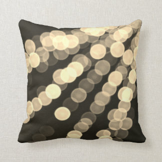 Gold Lights Pillow