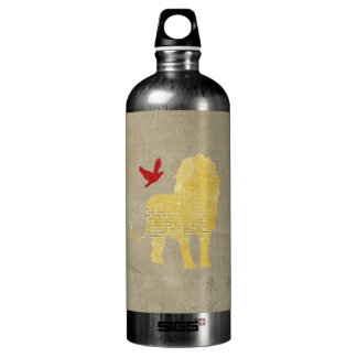 Gold Lion Silhouette Liberty Bottle SIGG Traveller 1.0L Water Bottle