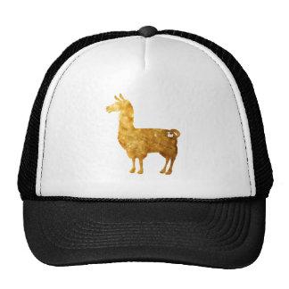 Gold Llama Cap