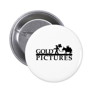 gold logo best new 6 cm round badge