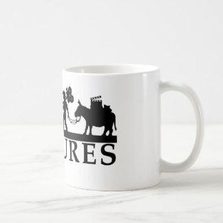gold logo best new classic white coffee mug