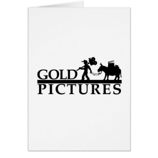 gold logo best new greeting card