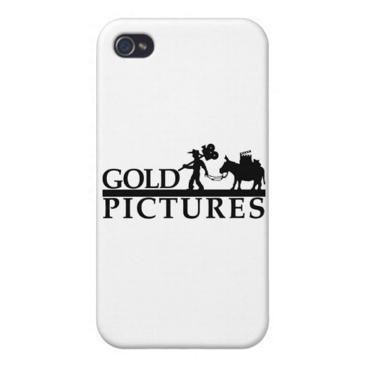 gold logo best new cover for iPhone 4