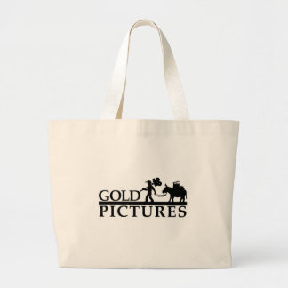gold logo best new large tote bag