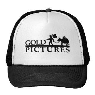 gold logo best new trucker hat
