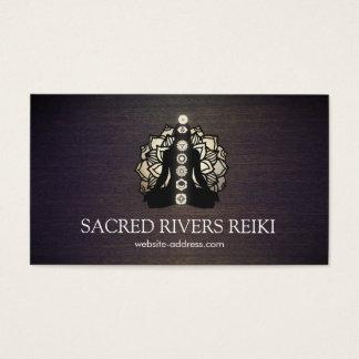 Gold Lotus and Chakras Energy Healer and Yoga