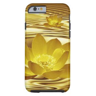Gold lotus flower India Tough iPhone 6 Case