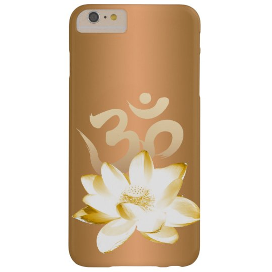 Gold Lotus & Om Symbol Yoga Barely There