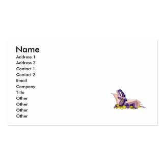 Gold Loving Dragon Pack Of Standard Business Cards