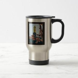 Gold Man Travel Mug