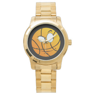 Gold Manly Man Baller Emoji Watch