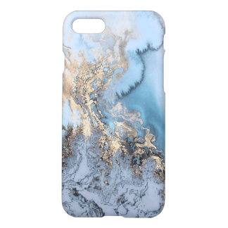 Gold Marble iPhone 7 Case