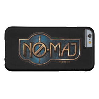 Gold & Marble No-Maj Badge Barely There iPhone 6 Case