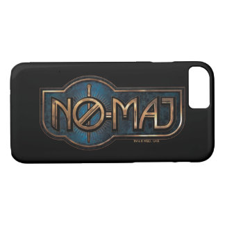 Gold & Marble No-Maj Badge iPhone 7 Case