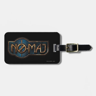 Gold & Marble No-Maj Badge Luggage Tag