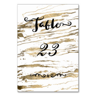 Gold marbleized abstract wedding design card