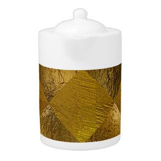 Gold Medium Teapot