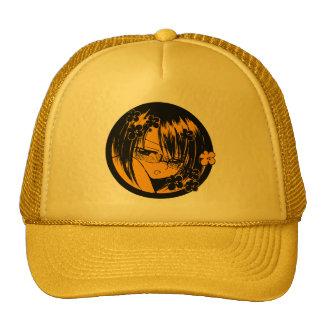 gold meganekko muuhh moe cap