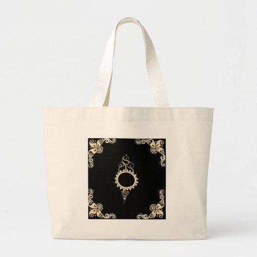 gold mehndi bag