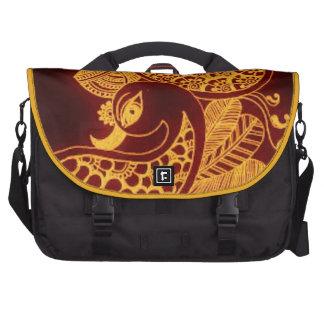 gold mehndi Commuter Bag