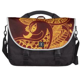 gold mehndi laptop bags