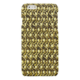 Gold Metal Chain Mail Metallic Medieval Armor iPhone 6 Plus Case