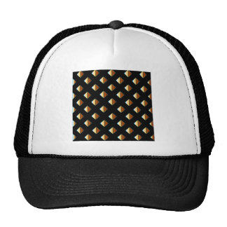 Gold metal studs cap