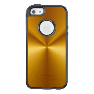 Gold Metallic Look OtterBox iPhone 5/5s/SE Case