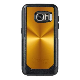 Gold Metallic Look OtterBox Samsung Galaxy S7 Case