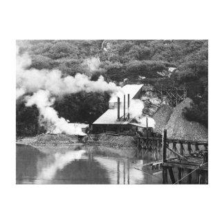 Gold Mine in Valdez, Alaska Photograph Canvas Print