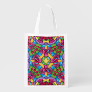 Gold Miner Colorful Reusable Bags Market Totes