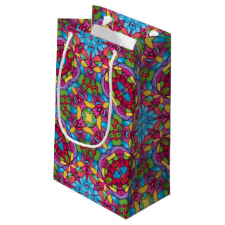 Gold Miner Vintage Kaleidoscope Small Gift Bag