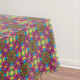 Gold Miner   Vintage Kaleidoscope  Tablecloth