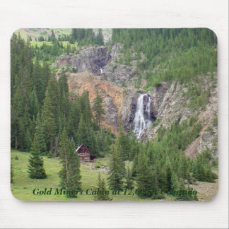 Gold Miners Cabin 12,000 ft Mouse Pad