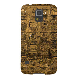 Gold mobile phone icons Samsung Galaxy S5 case