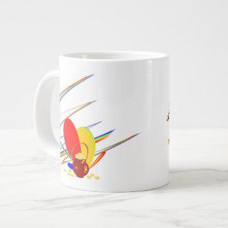 Gold money ang magic rainbow  Mug 20 Oz Large Ceramic Coffee Mug